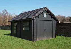 abris jardin chalets bois qualit sur mesure decochalet. Black Bedroom Furniture Sets. Home Design Ideas