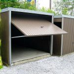 Boxe garage métal 1 voiture