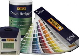 Palette de couleurs JOTUN