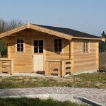 bureau de jardin cosi avec terrasse