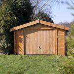 Garage en bois 3.60m x 6.00m