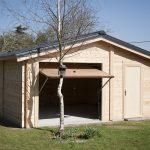 Garage atelier en bois