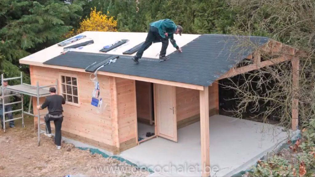 Vidéos amusantes du montage d\'un abri de jardin | DECOCHALET