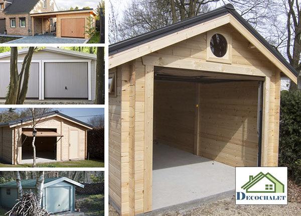 garages en bois pour l'hiver
