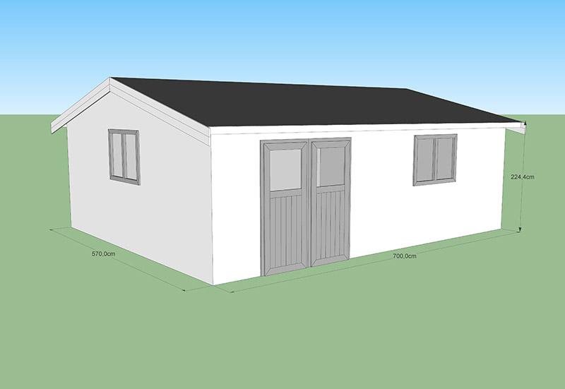 abri de jardin carport chalet garage codt decochalet. Black Bedroom Furniture Sets. Home Design Ideas