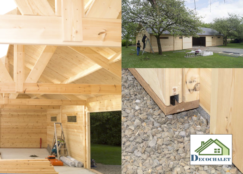 Construction Hangar Bois Prix constructions en bois : voyez la vie en grand ! - decochalet